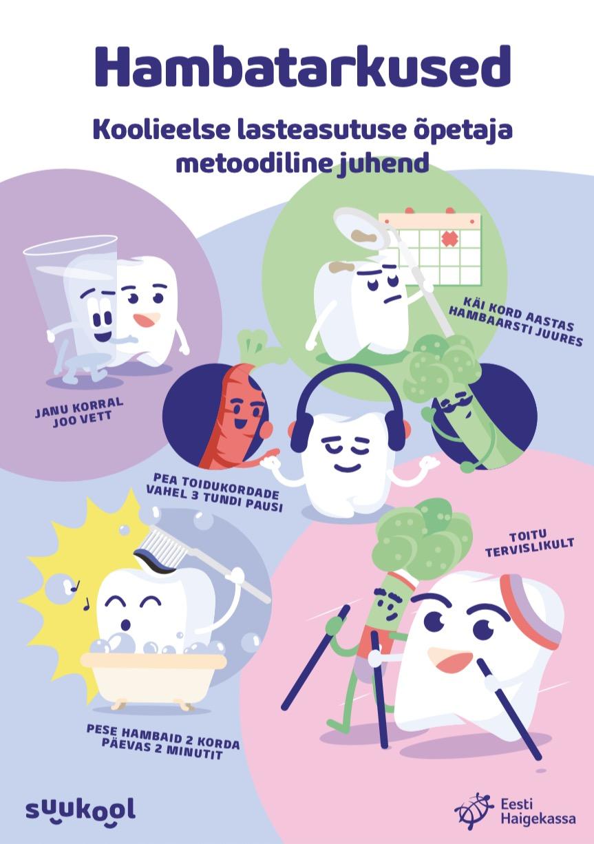 Hambatarkused - Koolieelse lasteasutuse õpetaja metoodiline juhend